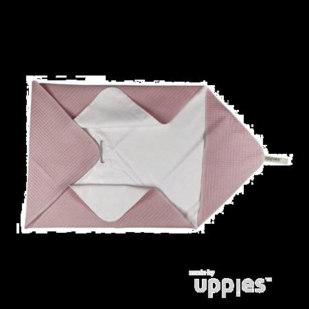 Uppies baby - Omslagdoek / Wikkelcape zomer Roze