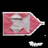 Uppies wikkelcape roze, omslagdoek