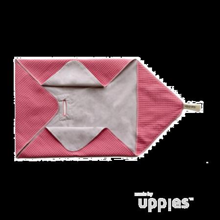 Uppies Baby - Omslagdoek / Wikkelcape winter Koraal
