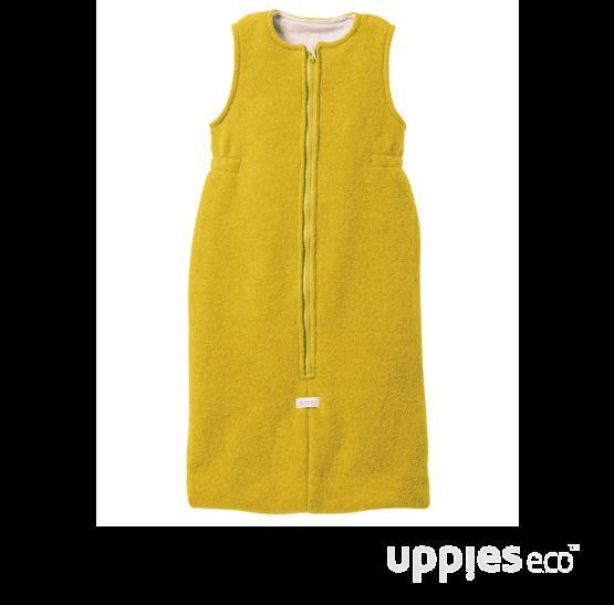 Uppies-slaapzak-Disana-geel
