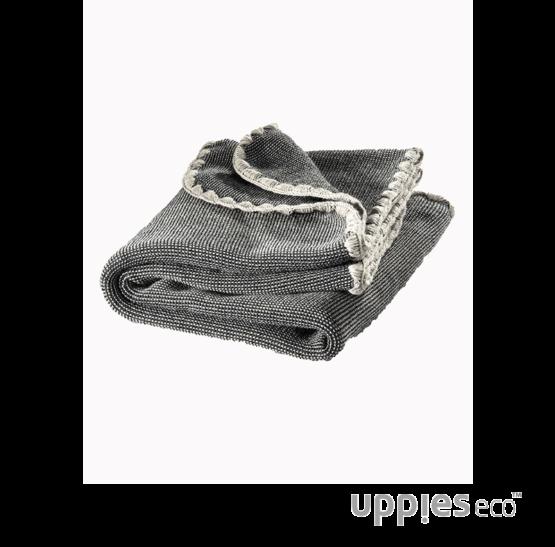 Disana-deken-antraciet-grijs uppies