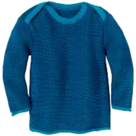 Uppies Baby - truitje Disana Donker blauw melange