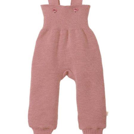 Uppies Gebreide baby broek roze