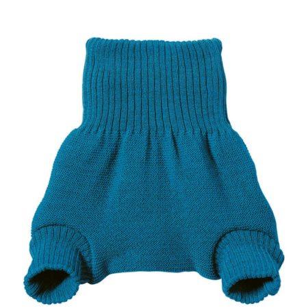 Uppies baby - wolbroek Disana blauw