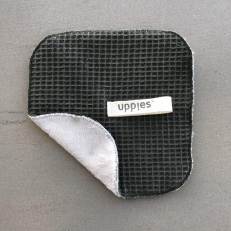 Knuffelspeendoekje Uppies Leger groen