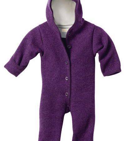Uppies baby - Pakje disana fleece Paars