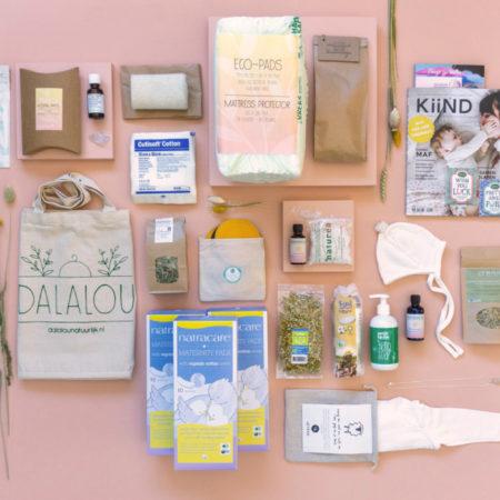 Uppies baby - Natuurlijke kraamzorg Kraampakket  Dalalou Deluxe