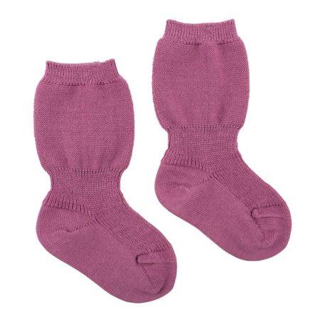 Uppies baby - Spekbeen sokjes gebreid grödo Roze