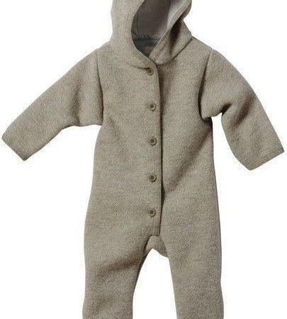 Uppies baby - Pakje disana fleece Grijs