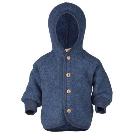 Uppies baby - Jasje Engel wol fleece Donker blauw