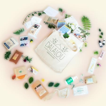 Uppies baby - Natuurlijke kraamzorg Kraampakket  Dalalou vegan Deluxe