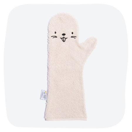 Uppies baby - showergloves Bever roze
