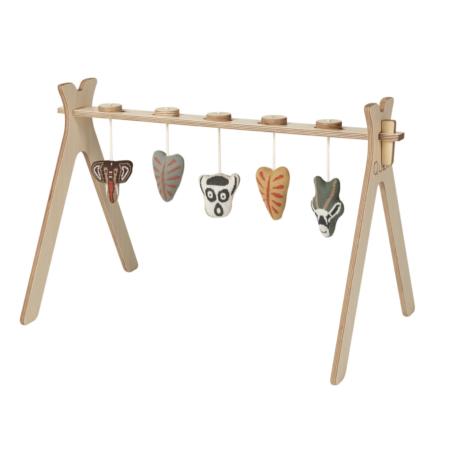 Uppies baby - activity Arch Quax tricot figuurtjes afrika