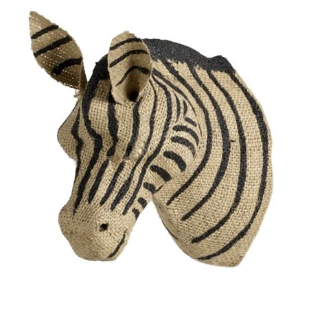 Uppies baby - Dierenhoofd Quax Zebra