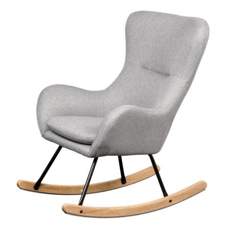 Uppies baby - schommelstoel Quax Basic Zacht grijs
