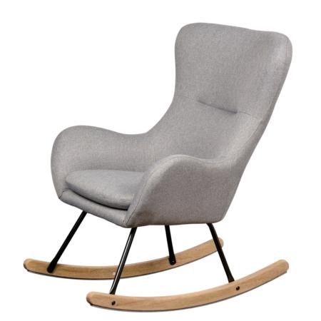 Uppies baby - schommelstoel Quax Basic donker grijs