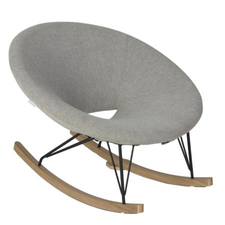 Uppies baby - schommelstoel Quax O Zand grijs
