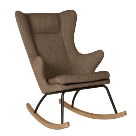 Uppies baby - schommelstoel Quax Deluxe Latte