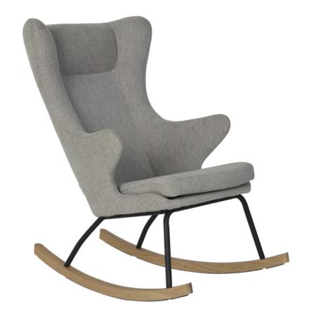 Uppies baby - schommelstoel Quax Deluxe Zand grijs