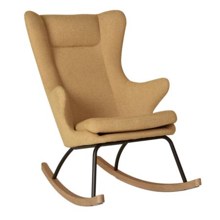 Uppies baby - schommelstoel Quax Deluxe Safraan