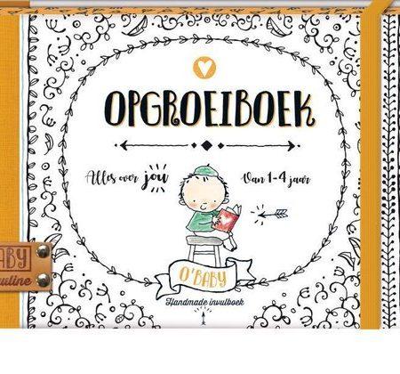 Uppies Baby - Boek 'Opgroeiboek O'baby
