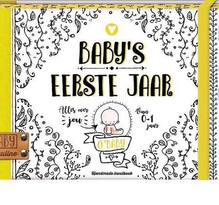 Uppies Baby - Boek 'Baby's eerste jaar' O'baby