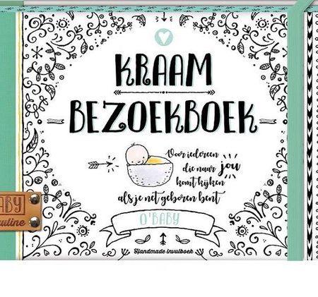 Uppies Baby - Boek 'Kraambezoekboek' O'baby
