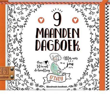 Uppies Baby - Boek '9 maanden dagboek' O'baby