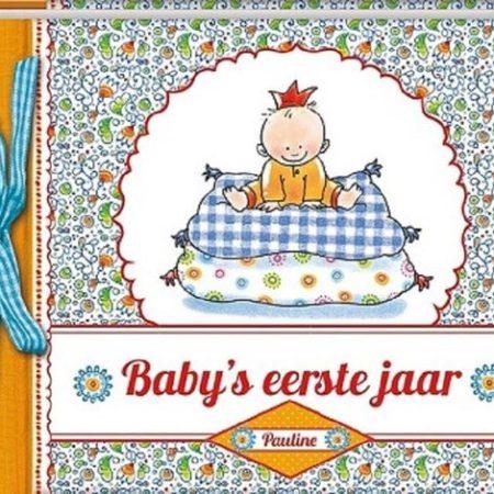 Uppies Baby - Boek 'Baby's eerste jaar'