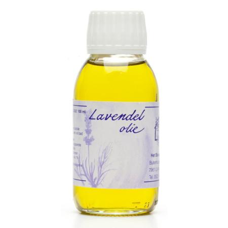 Biologische Lavendelolie blauwe huis