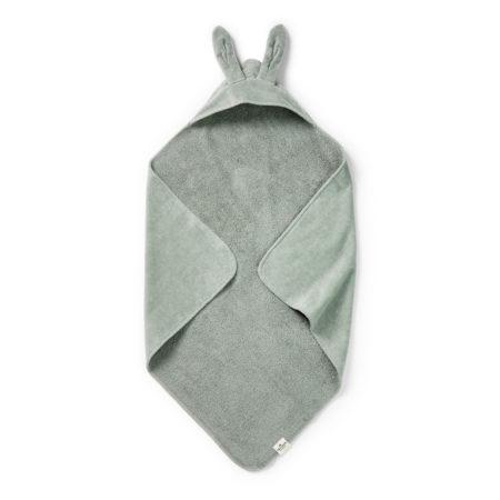 Uppies Baby - Omslagdoek Elodie Mineral green bunny