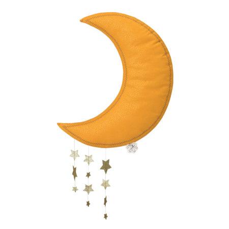 Knuffel Maan Picca LouLou geel