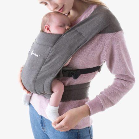 Ergobaby Embrace Newborn Carrier Grey