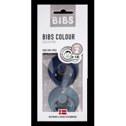 Fopspenen BIBS blister Deep Space/Petrol T2